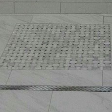 Shower Trench Drain Explained Curbless Ez Able